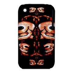 Skull Motif Ornament Apple Iphone 3g/3gs Hardshell Case (pc+silicone) by dflcprints