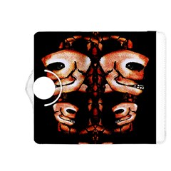 Skull Motif Ornament Kindle Fire Hdx 8 9  Flip 360 Case by dflcprints