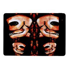 Skull Motif Ornament Samsung Galaxy Tab Pro 10 1  Flip Case by dflcprints