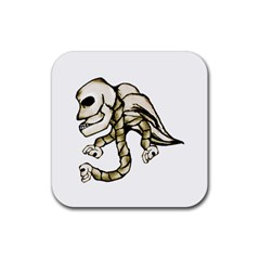 Angel Skull Drink Coasters 4 Pack (square) by dflcprints