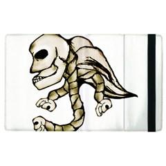 Angel Skull Apple Ipad 3/4 Flip Case