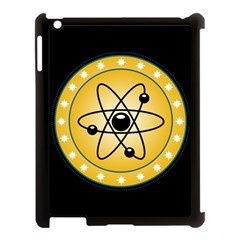 Atom Symbol Apple Ipad 3/4 Case (black) by StuffOrSomething