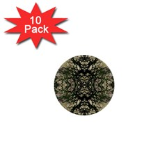 Winter Colors Collage 1  Mini Button (10 Pack) by dflcprints