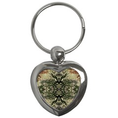 Winter Colors Collage Key Chain (heart) by dflcprints