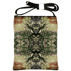 Winter Colors Collage Shoulder Sling Bag by dflcprints