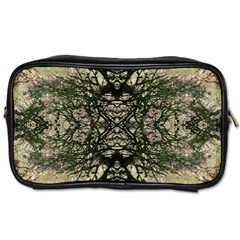 Winter Colors Collage Travel Toiletry Bag (two Sides) by dflcprints