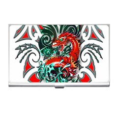 Tribal Dragon Business Card Holder by TheWowFactor
