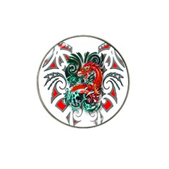 Tribal Dragon Golf Ball Marker 10 Pack (for Hat Clip) by TheWowFactor