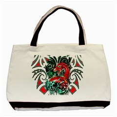 Tribal Dragon Classic Tote Bag by TheWowFactor