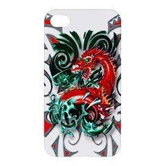 Tribal Dragon Apple Iphone 4/4s Hardshell Case by TheWowFactor