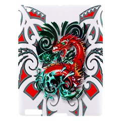 Tribal Dragon Apple Ipad 3/4 Hardshell Case by TheWowFactor