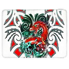 Tribal Dragon Samsung Galaxy Tab 7  P1000 Flip Case by TheWowFactor