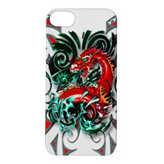 Tribal Dragon Apple Iphone 5s Hardshell Case by TheWowFactor