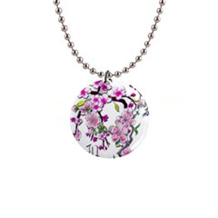 Cherry Bloom Spring Button Necklace by TheWowFactor