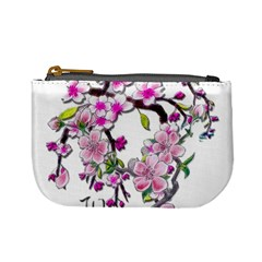 Cherry Bloom Spring Coin Change Purse by TheWowFactor