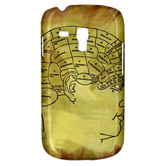 Brain Map Samsung Galaxy S3 Mini I8190 Hardshell Case by StuffOrSomething