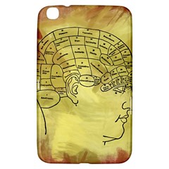 Brain Map Samsung Galaxy Tab 3 (8 ) T3100 Hardshell Case  by StuffOrSomething