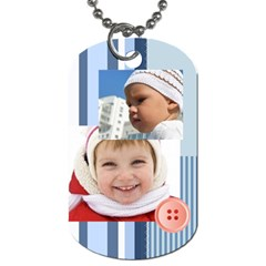 Kids By Kids   Dog Tag (two Sides)   4yfged58okiy   Www Artscow Com Back