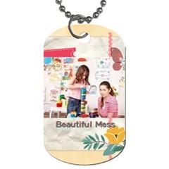 Kids By Kids   Dog Tag (two Sides)   W6ebjnogew37   Www Artscow Com Back