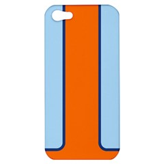 Gulf No Logo Apple Iphone 5 Hardshell Case by PocketRacers