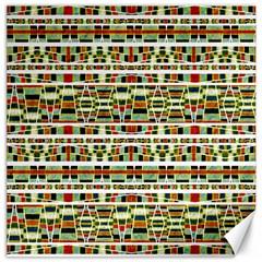 Aztec Grunge Pattern Canvas 12  X 12  (unframed) by dflcprints