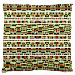 Aztec Grunge Pattern Large Cushion Case (two Sided)  by dflcprints