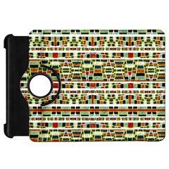 Aztec Grunge Pattern Kindle Fire Hd 7  (1st Gen) Flip 360 Case by dflcprints