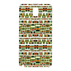Aztec Grunge Pattern Samsung Galaxy Note 3 N9005 Hardshell Back Case by dflcprints