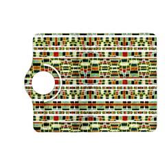Aztec Grunge Pattern Kindle Fire Hd 7  (2nd Gen) Flip 360 Case by dflcprints