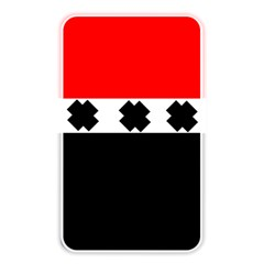 Red, White And Black With X s Electronic Accessories Memory Card Reader (rectangular) by Khoncepts