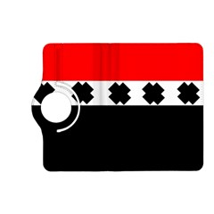 Red, White And Black With X s Electronic Accessories Kindle Fire Hd 7  (2nd Gen) Flip 360 Case by Khoncepts