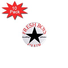 Fresshboy Allstar2 1  Mini Button Magnet (10 pack) by freshboyapparel