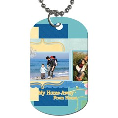 Family By Family   Dog Tag (two Sides)   Ny39y2e3n494   Www Artscow Com Back