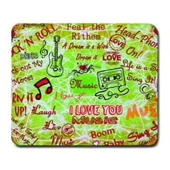 Pop Rock! Large Mousepad by MusicCity