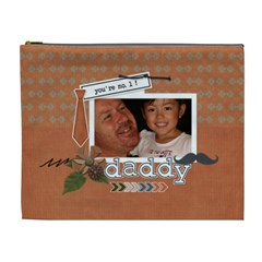 Cosmetic Bag (xl) : Dad 1 By Jennyl   Cosmetic Bag (xl)   Rflkenkv07cf   Www Artscow Com Front