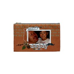 Cosmetic Bag (s) : Dad 1 By Jennyl   Cosmetic Bag (small)   Te1easiqzth4   Www Artscow Com Front