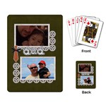 Playing Cards: Dad - Playing Cards Single Design