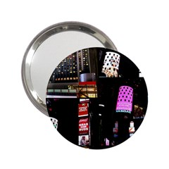New York City At Night Handbag Mirror (2 25 ) by stineshop