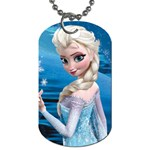 elsa 1 - Dog Tag (One Side)