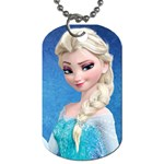 elsa 2 - Dog Tag (One Side)