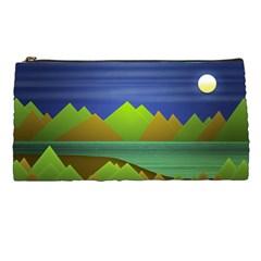 Landscape  Illustration Pencil Case by dflcprints