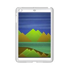 Landscape  Illustration Apple iPad Mini 2 Case (White) by dflcprints