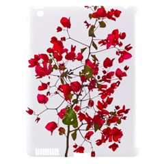 Red Petals Apple iPad 3/4 Hardshell Case (Compatible with Smart Cover) by dflcprints