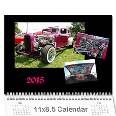 Donald Ernest   2015 By J  Richardson   Wall Calendar 11  X 8 5  (12 Months)   Rcqqon38dqbm   Www Artscow Com Cover
