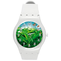 Nature Day Plastic Sport Watch (medium) by dflcprints