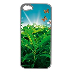 Nature Day Apple Iphone 5 Case (silver) by dflcprints