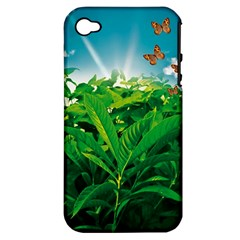 Nature Day Apple Iphone 4/4s Hardshell Case (pc+silicone) by dflcprints