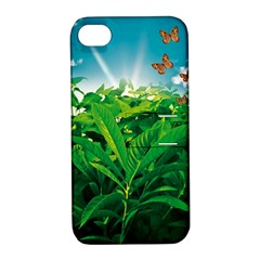 Nature Day Apple Iphone 4/4s Hardshell Case With Stand by dflcprints