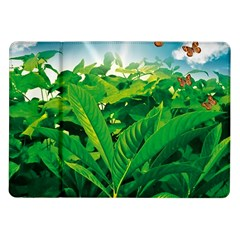 Nature Day Samsung Galaxy Tab 10 1  P7500 Flip Case by dflcprints