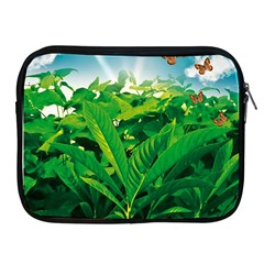 Nature Day Apple Ipad Zippered Sleeve by dflcprints